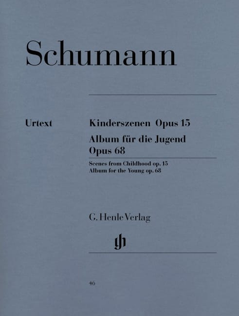 SCHUMANN - Children's Scenes Opus 15 and Album for Youth Opus 68 - Partition - di-arezzo.com
