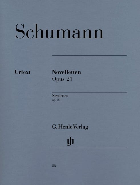 SCHUMANN - Novelettes Opus 21 - Partition - di-arezzo.co.uk