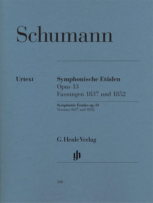 Etudes symphoniques Opus 13, versions 1837 et 1852 - laflutedepan.com