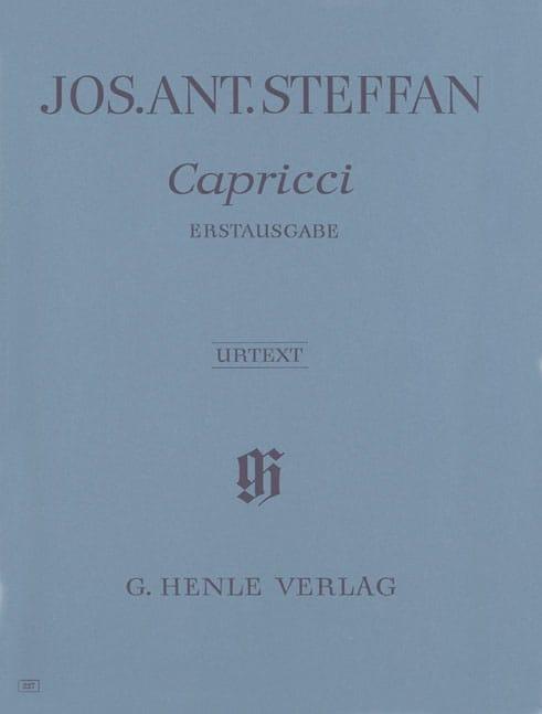 Capricci - Joseph Anton Steffan - Partition - Piano - laflutedepan.com