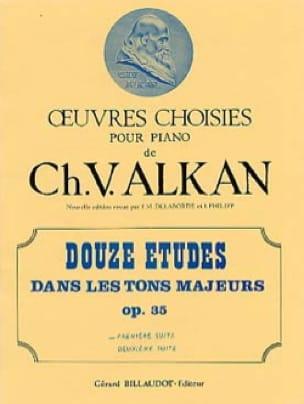 12 Etudes Dans les Tons Majeurs Opus 35 Volume 1 - laflutedepan.com