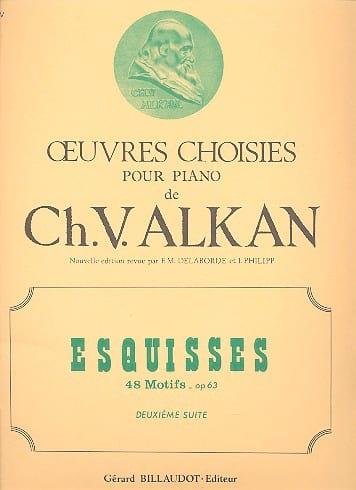 Esquisses Opus 63 Volume 2 - ALKAN - Partition - laflutedepan.com