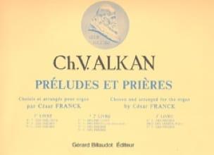 Préludes et Prières. Volume 2 - ALKAN - Partition - laflutedepan.com