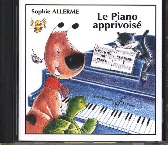 Sophie Allerme - CD - The Tamed Piano Volume 1 - Partition - di-arezzo.com