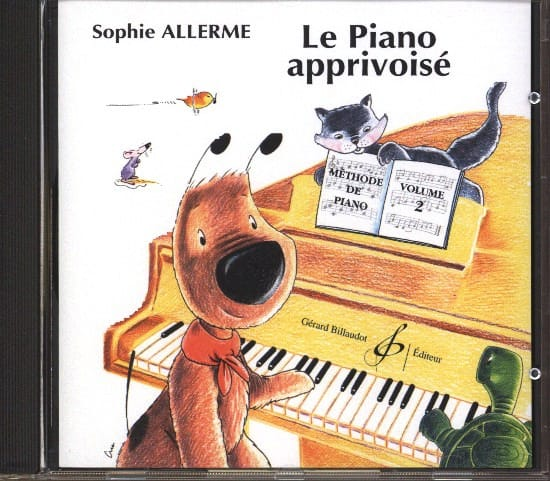 Sophie Allerme - CD - The Tamed Piano Volume 2 - Partition - di-arezzo.co.uk