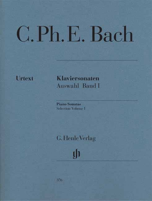 Carl-Philipp Emanuel Bach - Selected Sonatas for Piano Volume 1 - Partition - di-arezzo.com