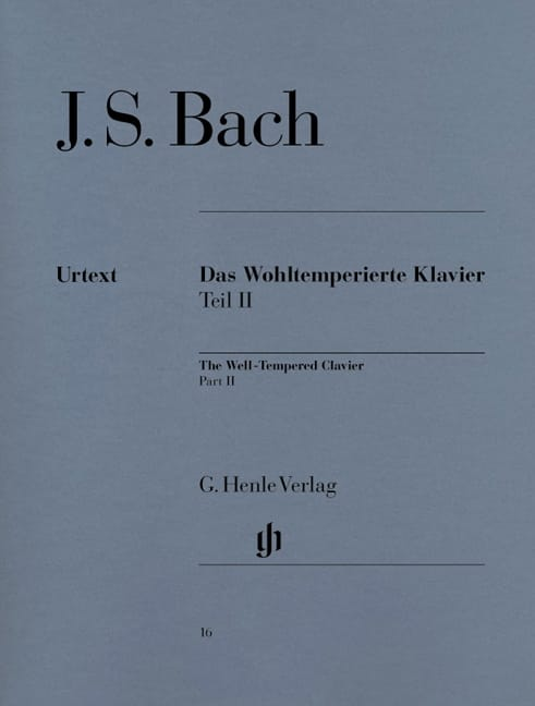 BACH - The Well Tempered Keyboard Volume 2 - Partition - di-arezzo.com