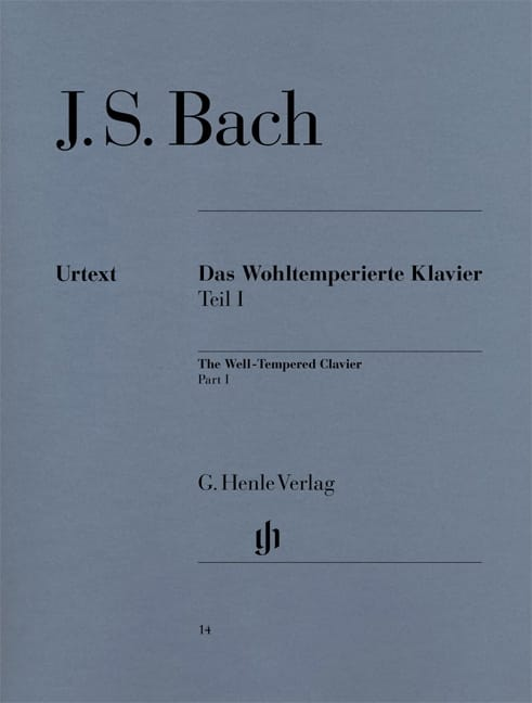 BACH - The Well Tempered Keyboard Volume 1 - Partition - di-arezzo.co.uk