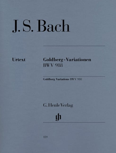 BACH - Goldberg-Variationen - Partition - di-arezzo.de