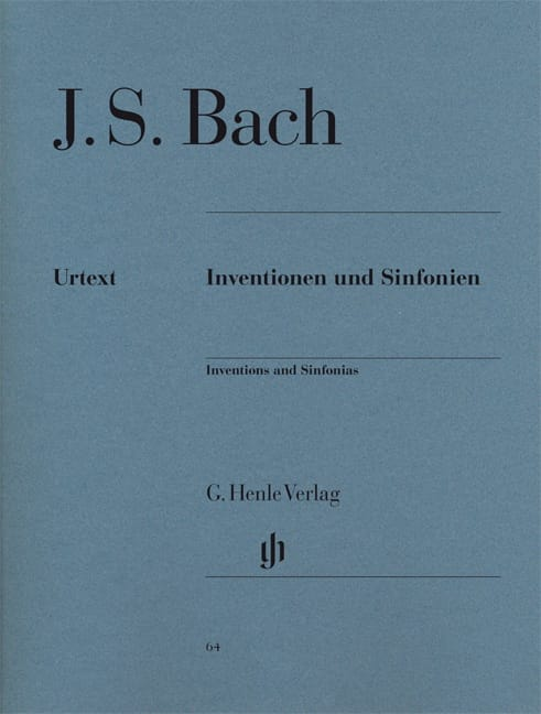 BACH - Inventions A 2 And 3 Voices - Partition - di-arezzo.com