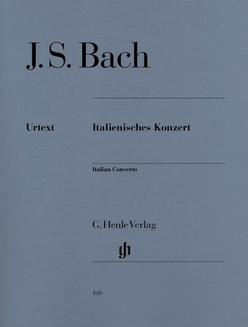 BACH - Italian Concerto - Partition - di-arezzo.co.uk