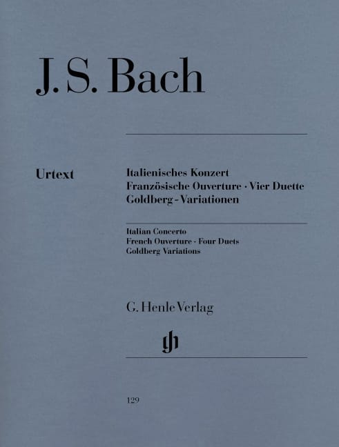 Concerto Italien, Ouverture Française, Quatre Duos, Variations Goldberg - laflutedepan.com