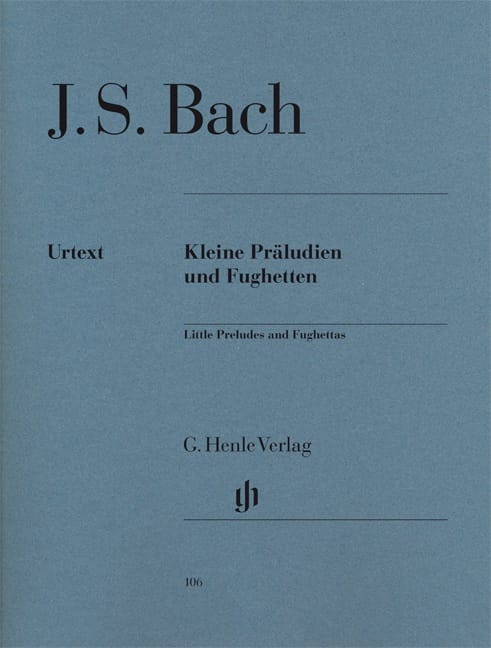 BACH - Little Preludes and Fugues - Partition - di-arezzo.com