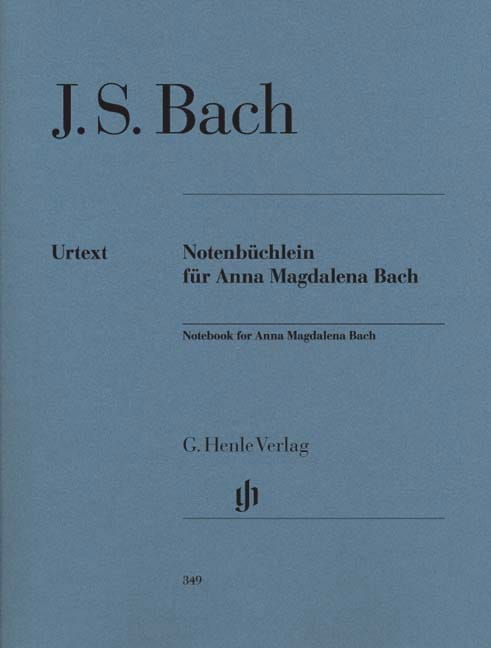 BACH - Anna Magdalena Bach's Little Book - Partition - di-arezzo.com