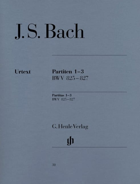 BACH - Partitas: 1-2-3 - Partition - di-arezzo.co.uk