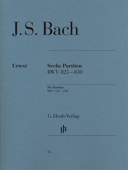 BACH - 6 Partitas - Partition - di-arezzo.co.uk