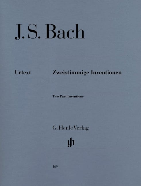 BACH - Inventions to Two Voice Bwv 772-786 - Partition - di-arezzo.com