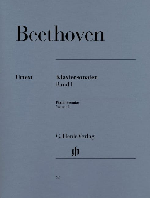 BEETHOVEN - Sonates pour Piano Volume 1 - Partition - di-arezzo.fr