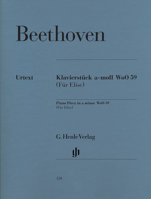 BEETHOVEN - Letter to Elise. - Partition - di-arezzo.co.uk
