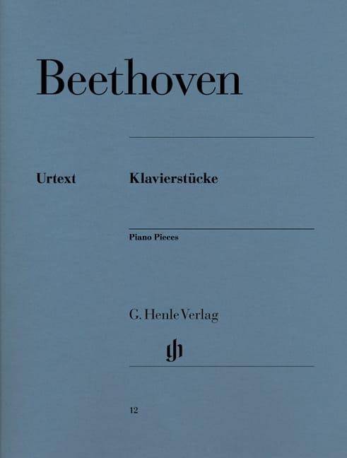 BEETHOVEN - Klavierstücke - Partition - di-arezzo.es