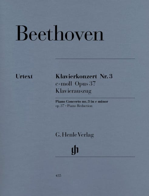 BEETHOVEN - Piano Concerto No. 3 in C minor Opus 37 - Partition - di-arezzo.co.uk