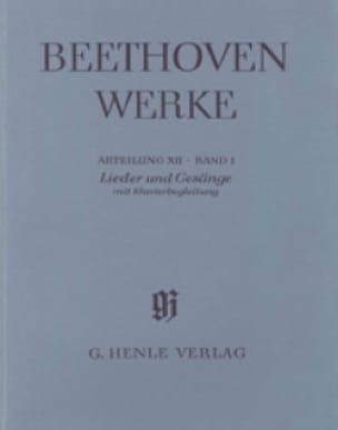 Lieder und Gesänge mit Klavierbegleitung. Mit Kritischem Bericht - laflutedepan.com