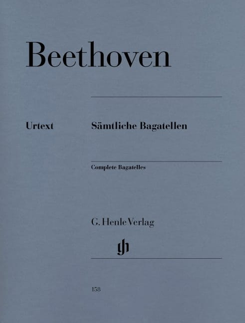 BEETHOVEN - Bagatelles - Partition - di-arezzo.fr