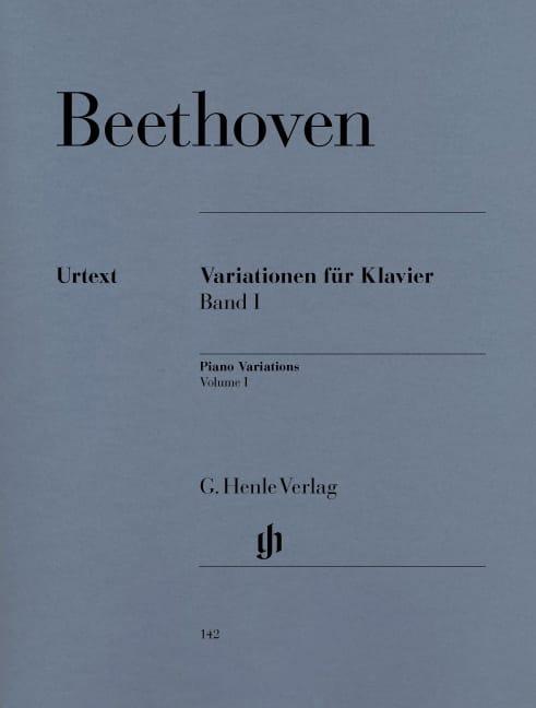 Variations Pour Piano, Volume 1 - BEETHOVEN - laflutedepan.com