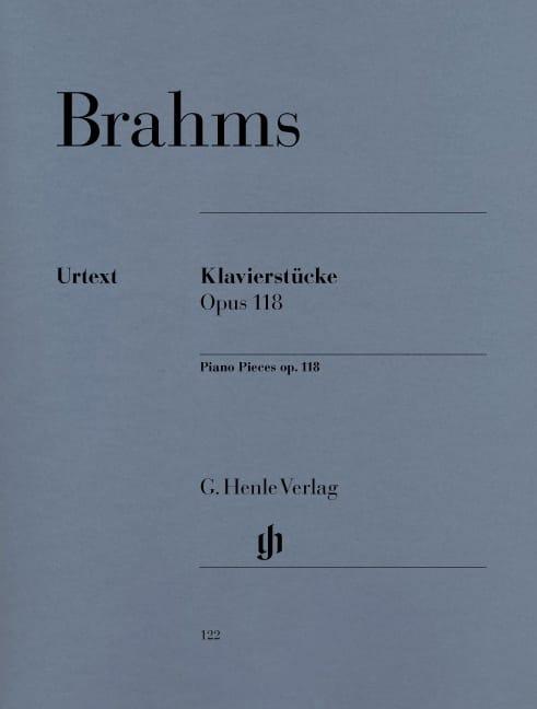 BRAHMS - Pieces For Piano Opus 118. - Partition - di-arezzo.com