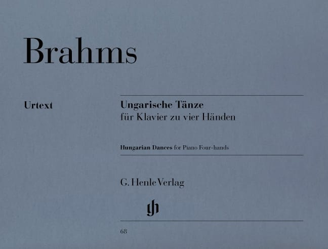 BRAHMS - Hungarian dances 1-21. 4 Hands - Partition - di-arezzo.co.uk