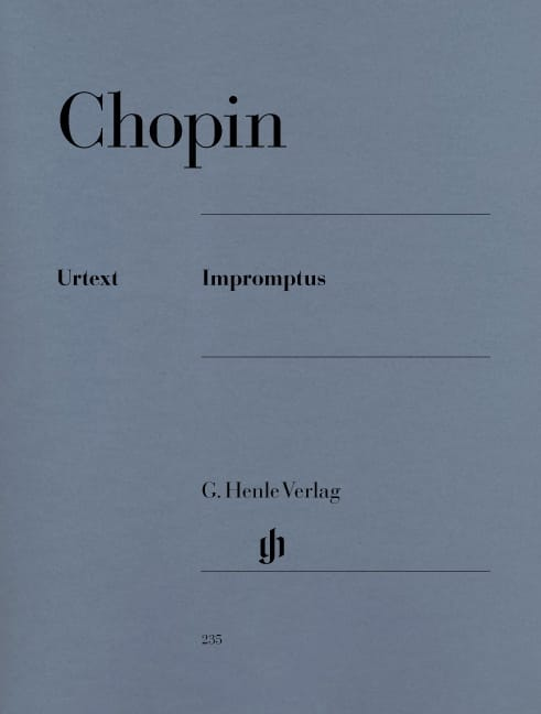 CHOPIN - Impromptus - Partition - di-arezzo.co.uk
