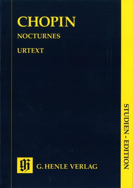 CHOPIN - Nocturnes - Partition - di-arezzo.com