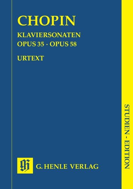 Sonates pour piano - CHOPIN - Partition - laflutedepan.com