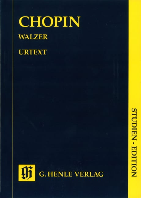 Valses - CHOPIN - Partition - Petit format - laflutedepan.com