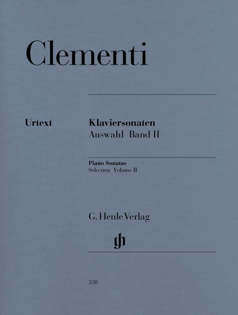 Muzio Clementi - Selected sonatas. Volume 2 - Partition - di-arezzo.co.uk