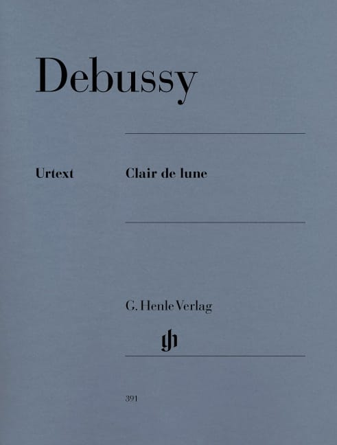 DEBUSSY - Moonlight - Partition - di-arezzo.co.uk
