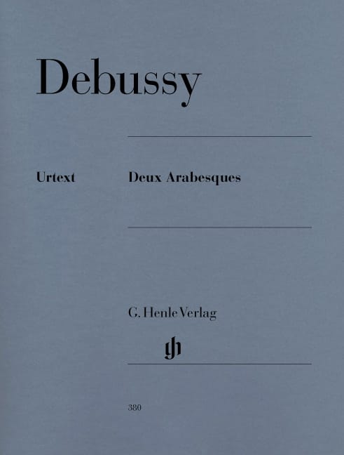 DEBUSSY - 2 Arabesques - Partition - di-arezzo.co.uk