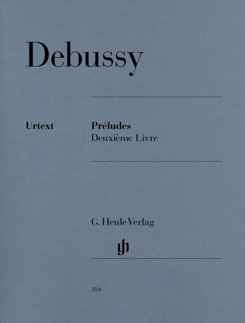 DEBUSSY - Preludes. 2nd Book - Partition - di-arezzo.co.uk