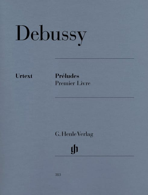 DEBUSSY - Preludes. 1st Book - Partition - di-arezzo.co.uk
