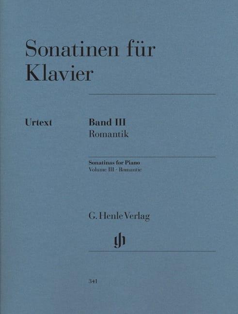 Sonatines Volume 3 - Partition - Piano - laflutedepan.com