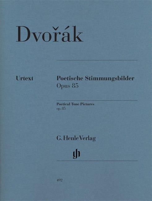 DVORAK - Poetic Impressions Opus 85 - Partition - di-arezzo.co.uk