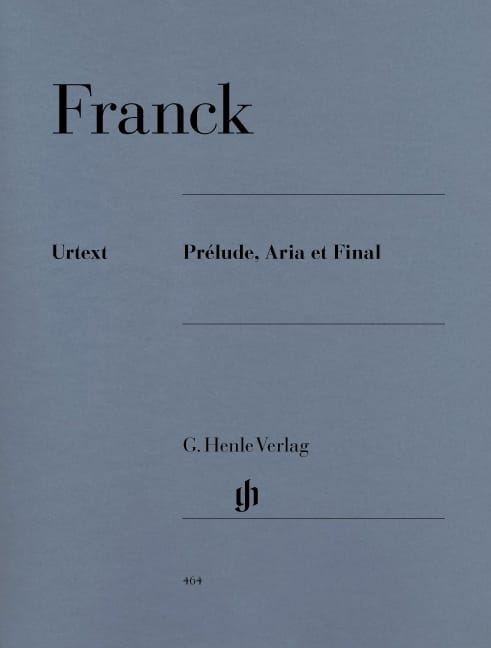 César Franck - Prelude, Aria and Final - Partition - di-arezzo.com