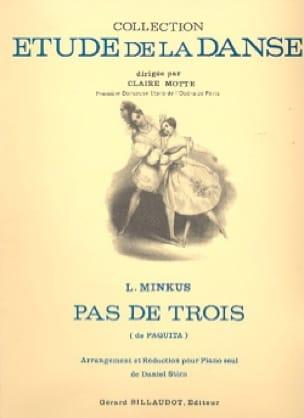 Pas de 3. Paquita - Ludwig Minkus - Partition - laflutedepan.com