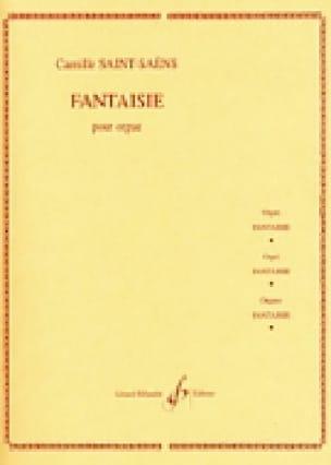 Camille Saint-Saëns - Fantasy 1857 - Partition - di-arezzo.com