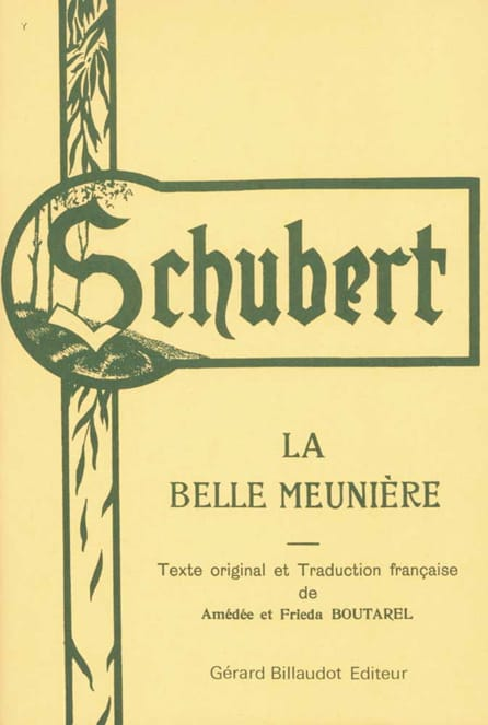 SCHUBERT - La Belle Meunière - Partition - di-arezzo.fr