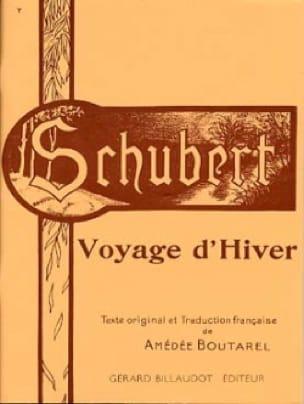 SCHUBERT - Voyage D'hiver. Voix Haute - Partition - di-arezzo.fr