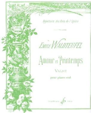 Amour et Printemps N°1 Valse - Emile Waldteufel - laflutedepan.com