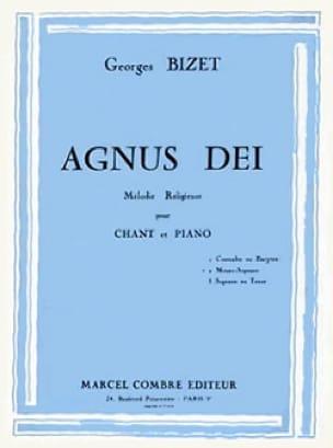 Agnus Dei. Voix Moyenne - BIZET - Partition - laflutedepan.com