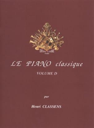 Le Piano classique. Volume D - CLASSENS - laflutedepan.com
