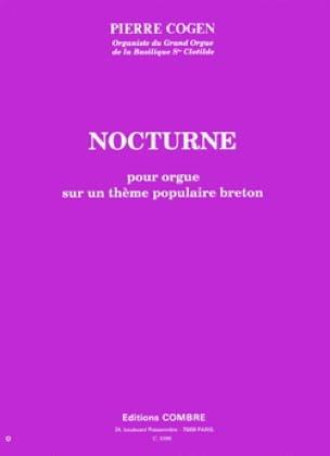 Nocturne pour orgue - Pierre Cogen - Partition - laflutedepan.com